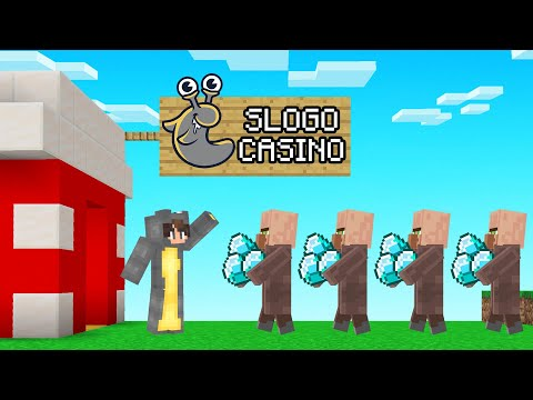 We Became CASINO OWNERS In Minecraft!