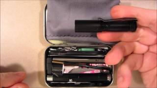TIN 2 Spy Kit +Laser Beacon PREVIEW: Pt. 7 Ultralight Survival Kit