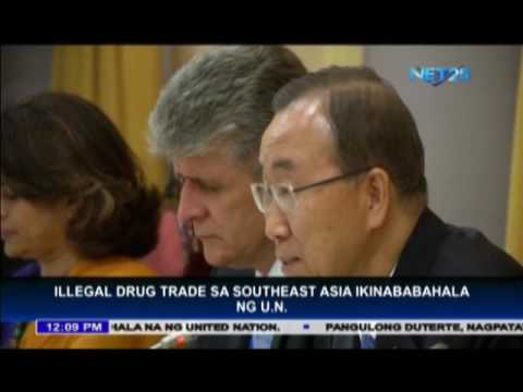 UN worries about illegal drug trade in Southeast Asia