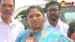 YSRCP MLA Giddi Eswari Slams Chandrababu Over Vizag Land Scam - Watch Exclusive