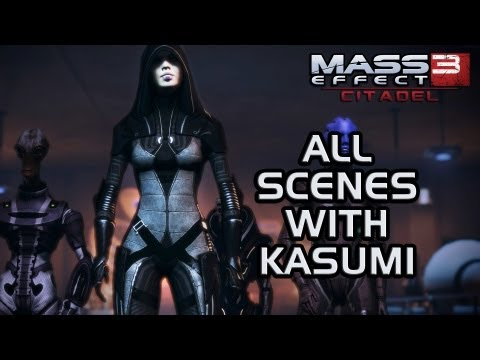 Mass Effect 3 Citadel DLC: All scenes with Kasumi