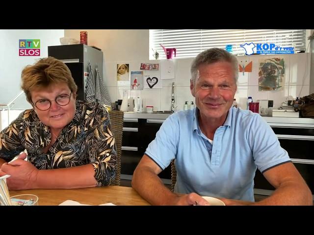 Wout en Janneke de Vries in de uitzending van Kop d'r Veur op 1 juli 2020