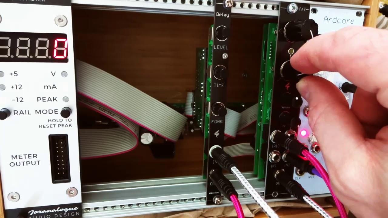 St Modular Diy Pt2399 Delay Sk1 Getlofi Circuit Bending Synth