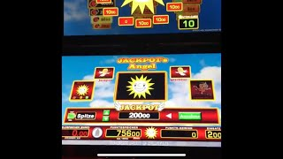 Jackpot Angel 2.5 k Live / 7min Pure Action