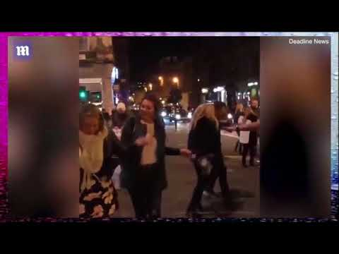 Glasgow Dancers Take To The Streets In Impromptu Rave