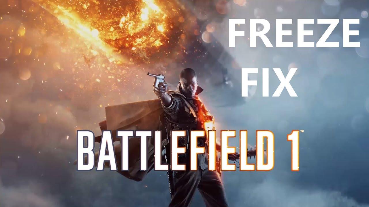 BATTLEFIELD 1 FREEZING FIX (actual solutions)