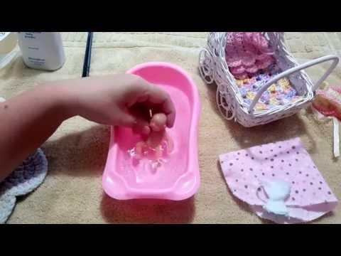Mini Baby Silicone Bath!