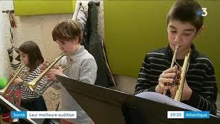 France 3 Atlantique Saintes- Action de prévention auditive