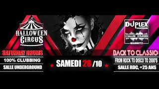 weekend Halloween 2017 Duplexclub Biarritz