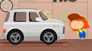 Мультики для детей - Доктор Машинкова - мультфильм про внедорожник и ФАРЫ
