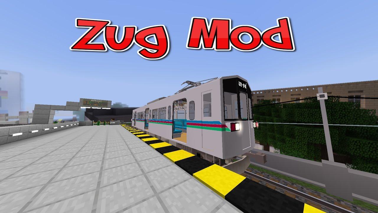 Minecraft TRAIN MOD Züge Fahren In Minecraft YouTube - Minecraft zug spiele