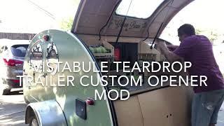 Vistabule Teardrop Trailer Custom Opener Mod
