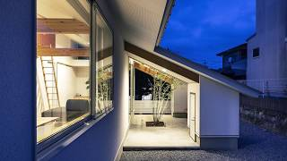 Eccentric Gabled Roof Gives this Japanese Home a Silhouette You Cannot Miss