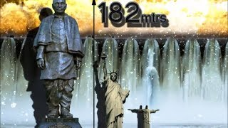 Statue of Unity: The tallest statue in the world - A tribute to Sardar Vallabhbhai Patel