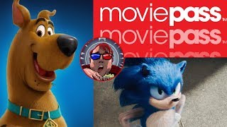 Movie Crap LIVE!!! Scooby 50th, Sonic Redesign, and R.I.P. MoviePass