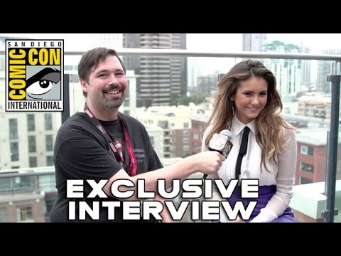 Comic Con 2014: Nina Dobrev Interview (HD) Let's Be Cops