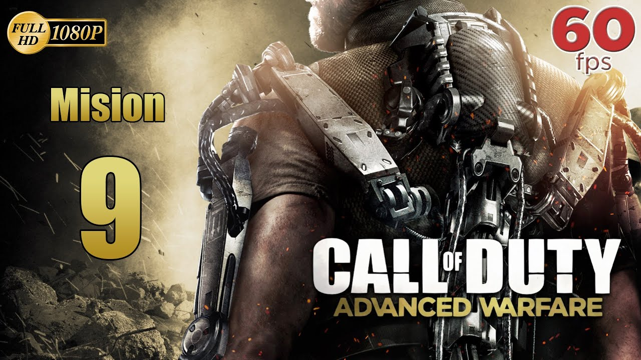 Call of Duty Advanced Warfare Mision 9 Choque | Español Gameplay PC PS4 XboxOne 60 fps 1080p