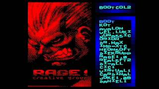 [ZX Spectrum] BOOT-DEMO Version 1.0 (Rage Creative Group, boot, 1999)