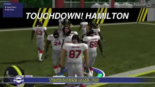 Xbox Canadian football game- First touchdown