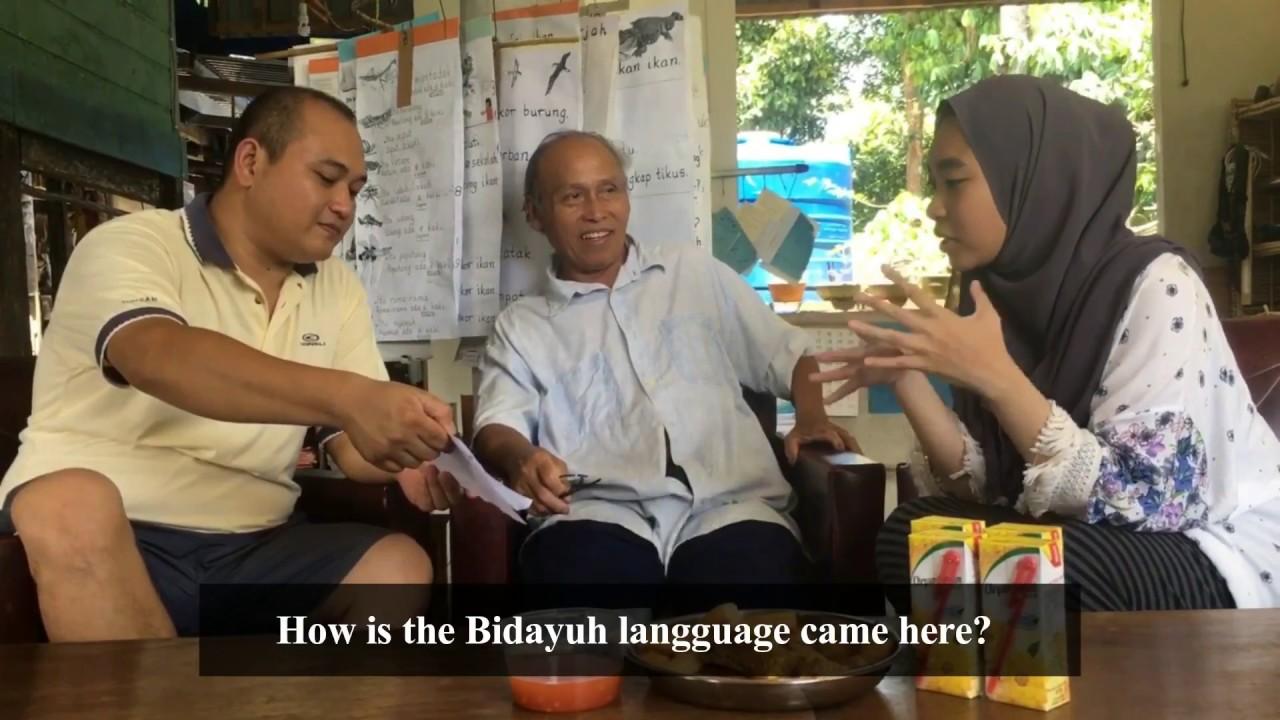 Unimas Bidayuh Bau Jagoi Language Youtube