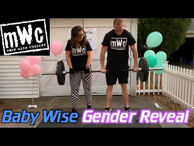 Baby Wise Gender Reveal Recap - November 7, 2020 (Barbell Deadlift Baby Reveal)