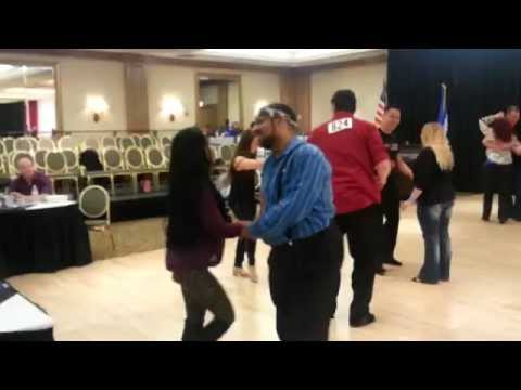 Randy Peters & Jennifer Pasetes  Swing Dance America 2015.