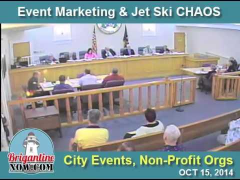 Brigantine Council Event & Jet Ski Chaos 10.15.2014