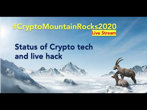 Status Crypto Tech with uConekt & CoreLedger; Live Hack – CryptoMountain Rocks 2020