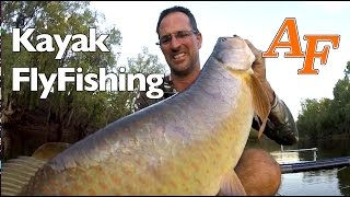 Kayak Fly Fishing Saratoga Andy's Fish Video EP.294