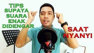 Tips Supaya Suara Enak Didengar Saat Nyanyi