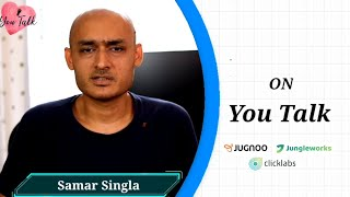 You Talk with Samar Singla | CEO & Founder JungleWorks & Jugnoo | by Susan Moss | You Talk Media
