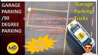GARAGE PARKING | 90 DEGREE PARKING | RTA SMART YARD PARKING| GARAGE PARKING TUTORIAL DUBAI
