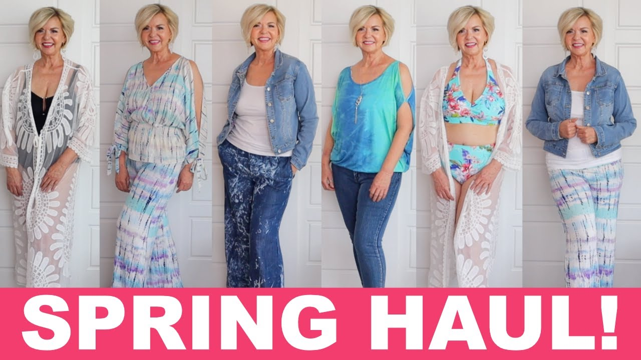 Summer Try-On Haul with VENUS | Fashion and Swimwear Over 50