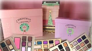 WHICH IS BEST? Too Faced Holiday Palettes 2016