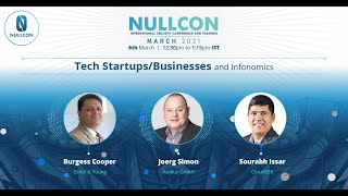 Tech Startups/Businesses and Infonomics | CXO Panel | Nullcon Security Conference March 2021