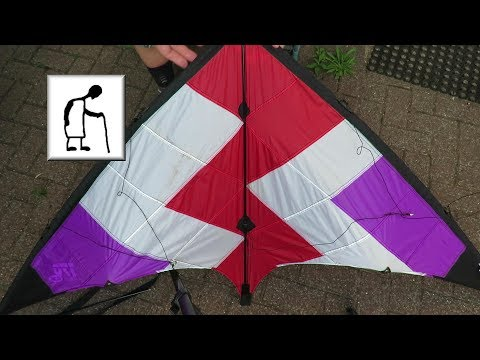 Replacing A Spar On My Günther Air Sport Flash 170cx Stunt Kite