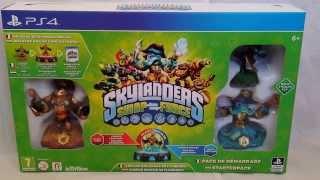 [unboxing] Skylanders: Swap Force - starter pack (PS4)