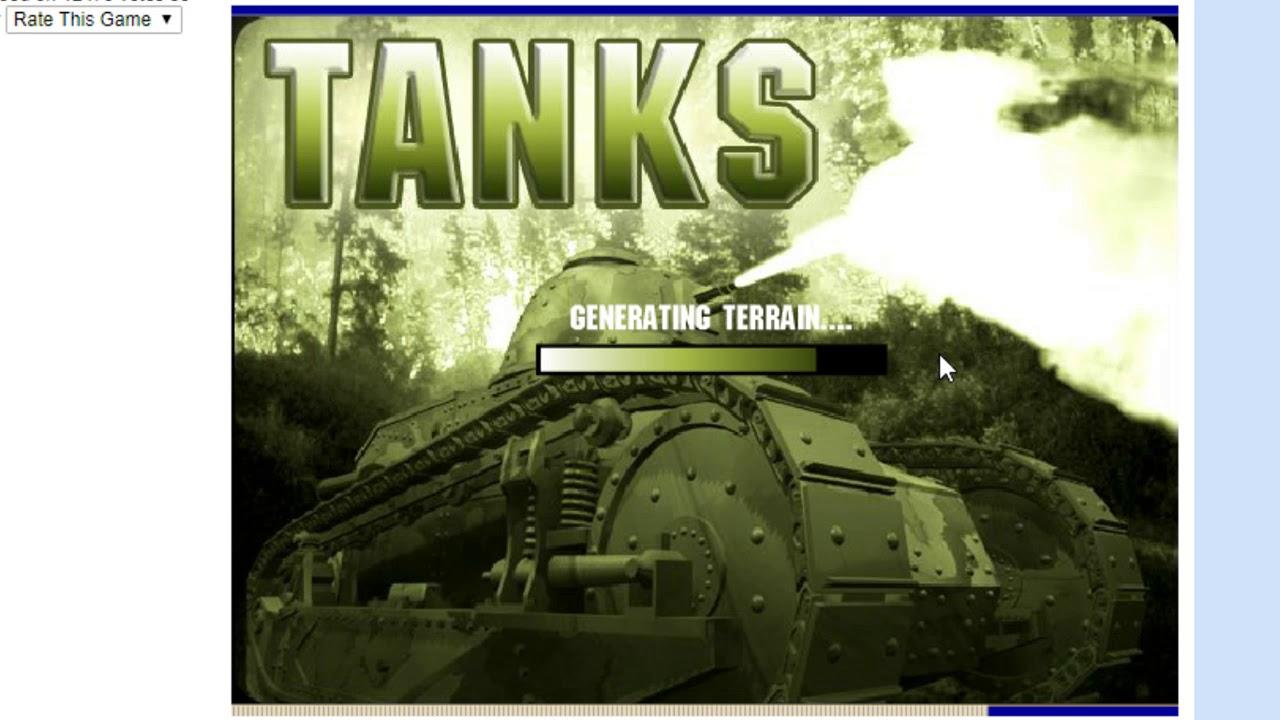 Flash Game Tank