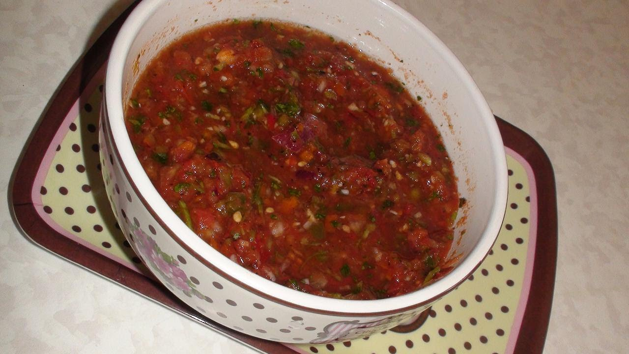 Salsa sauce recipes easy