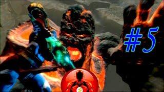 +18 Прохождение Игры God of War 3 Часть 5 - Пещеры!!!