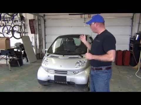 RVHaulers Introduction to Smart ForTwo Cars ... Interior and Exterior Tour
