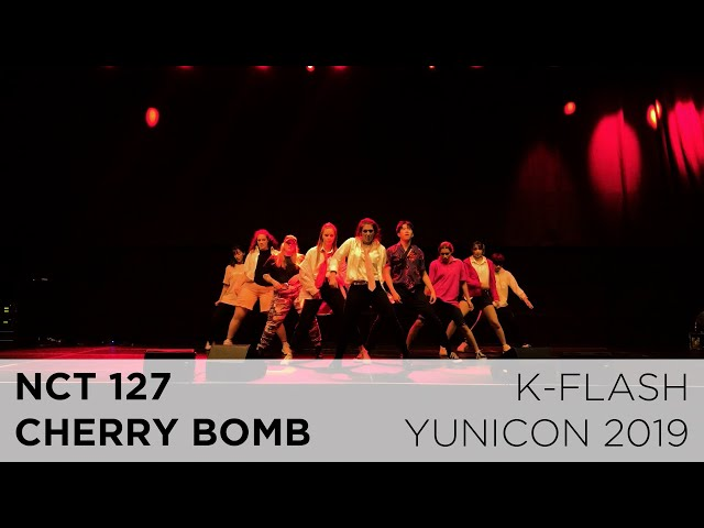 NCT 127 - Cherry Bomb | Dance Cover:  K-FLASH @ Yunicon 2019
