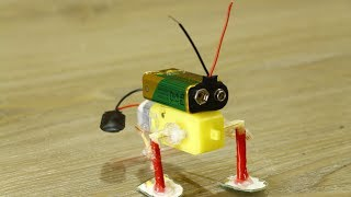 Video how to make a walking robot at home with Gear Motor download MP3, 3GP, MP4, WEBM, AVI, FLV April 2018