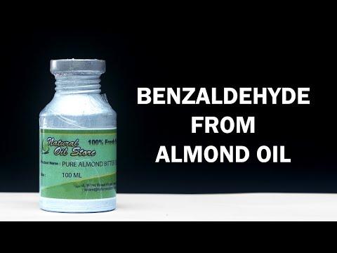 Benzaldehyde from Bitter Almond Oil