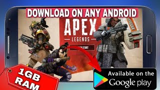 Gambar cover How to download apex legends gam in any android device | play apex legend game on android |