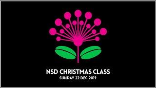 NSD CHRISTMAS CLASS 2019