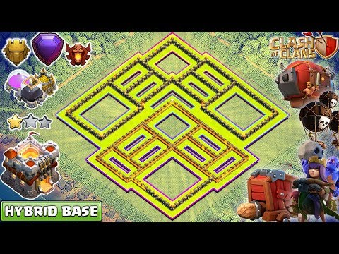 New TH11 Base 2018 | th11 Farming/Trophy Base Anti Everything – Clash of Clans 2018