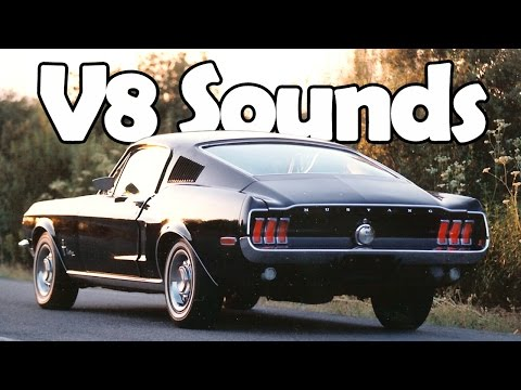 8 Sweet Sounding V8 Engines