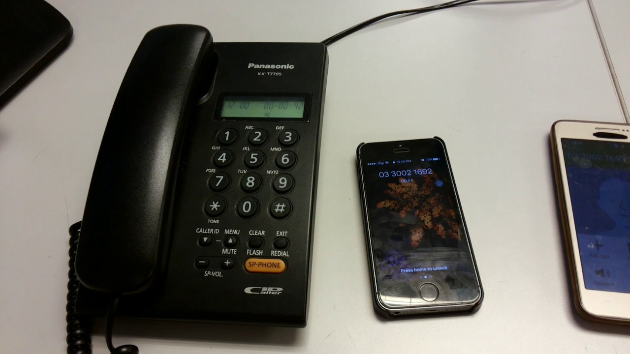 how to make conference call from landline