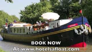 Hotels Afloat hotel barge cruise vacations in Europe
